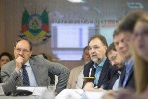 Resultados das eleições foram pauta de conversas no governo Sartori | Foto: Karine Viana / Palácio Piratini / CP