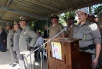 Diversas autoridades da área da segurança pública estiveram presentes na solenidade Foto: Adriana Lima/GES-Especial