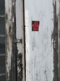 Norfolk Hospital Incurably Insane Door3