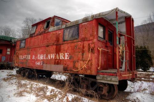 Catskill Mountain Railroad Car