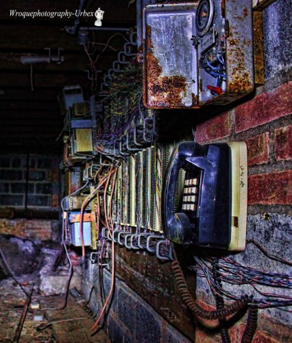 Seen in an abandoned factory, Orange County NY Photo by Bill Roque