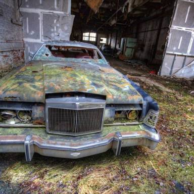 The lost Continental, seen in an abandoned dairy, Wallkill NY Photo by Andy Milford