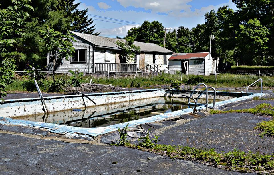 Abandoned Catskills pool Photo by Mary Oliansky Zaccagnino