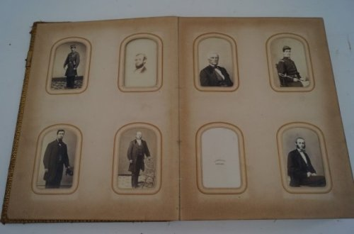 Carte des Visites, New Masonic Temple  Photo: Mid-Hudson Galleries