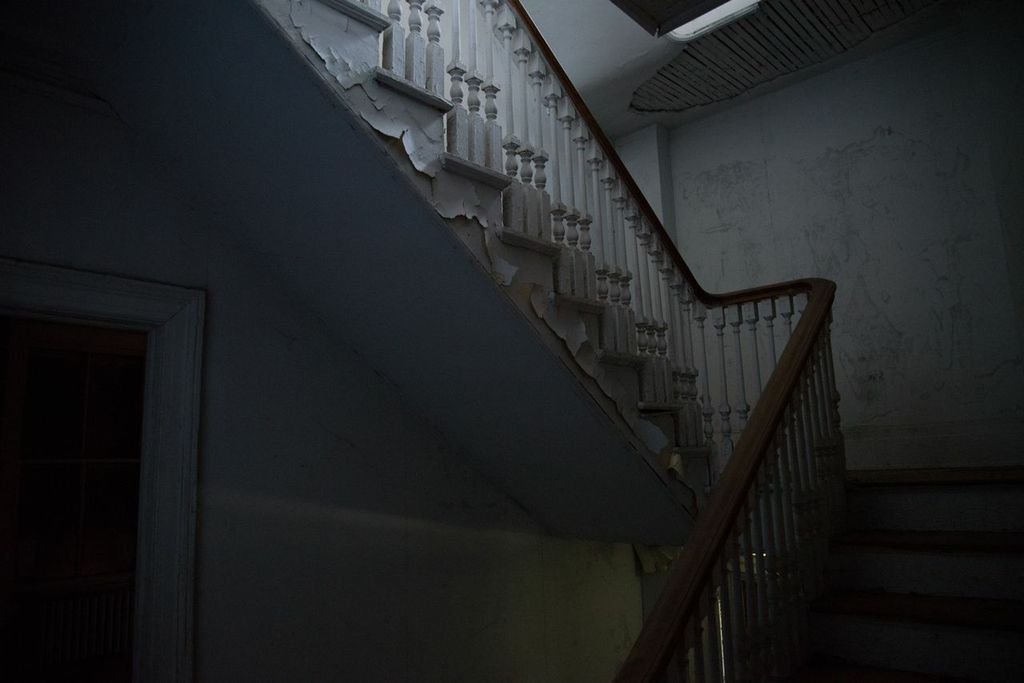 Staircase, Brooklyn Navy Yard Photo by Graeme Leaf