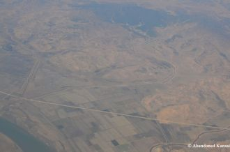 North Korea From A Plane