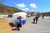 North Korean Sales Tent