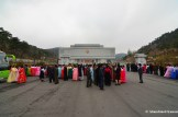 Dressed Up North Koreans At The Pyongyang National Gift Palace
