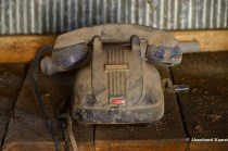 Dusty Hand-cranked Phone