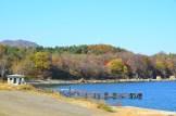Beautiful Autumn Day On Pipha Island, North Korea