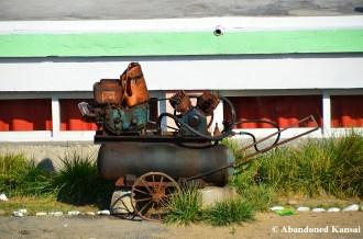 Old Machine, Pipha Island, North Korea