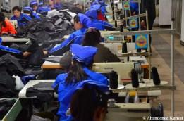 Textile Factory In Rason, North Korea