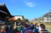 Hundreds Of Visitors On Their Way To The Shrine