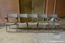 Row Of Rusty Seats