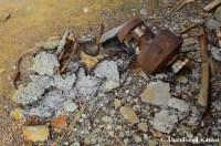 Rusty Machine And Metal Rope