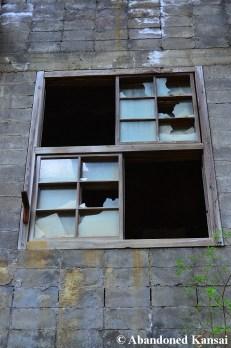 Wooden Window, Brick Wall