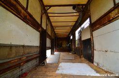 Empty Abandoned Trailer