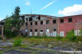 Abandoned Hangar, Outside