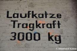 Laufkatze, Tragkraft 3000 kg - Crane Trolley, Lifting Capacity 6600 Pounds