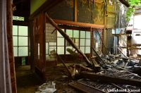 Partly Collapsed Japanese Mansion