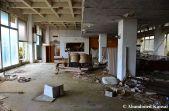 Abandoned Lobby Of The Arcade Machine Hotel