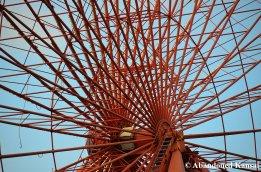 Abandoned Ferris Wheel (Detail)