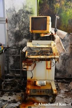 Abandoned Medical Ultrasound Scanner