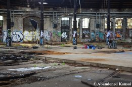 Photo Shooting At An Abandoned Place