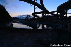 Abandoned Theme Park At Dawn