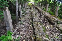 Decaying Cable Car Track