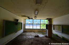 Deserted Classroom In Bad Condition