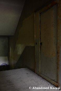 Eerie Hospital Staircase
