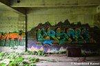 Graffiti At An Abandoned Hospital