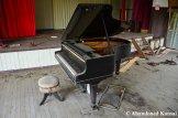 Abandoned Grand Piano