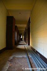 Abandoned Youth Hostel Hallway