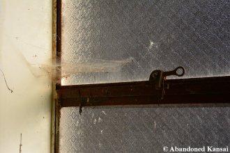 Cobweb In An Abandoned Window