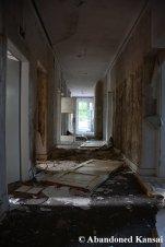 Spooky Hotel Hallway