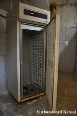 Abandoned Industrial Fridge