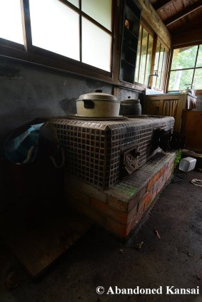 Kitchen Of Ye Olde Inn