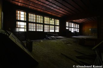 Old Wooden Japanese School