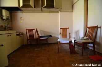 Abandoned Japanese Kitchen