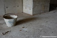 Abandoned Construction Site Bucket