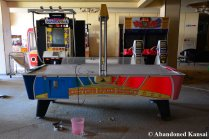 Arcade Machines In An Abandoned Japanese Hotel