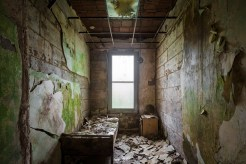 In the dormitories, many of the rooms were locked from the outside and tantalizingly undisturbed.