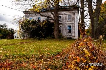 Abandoned Dryden House