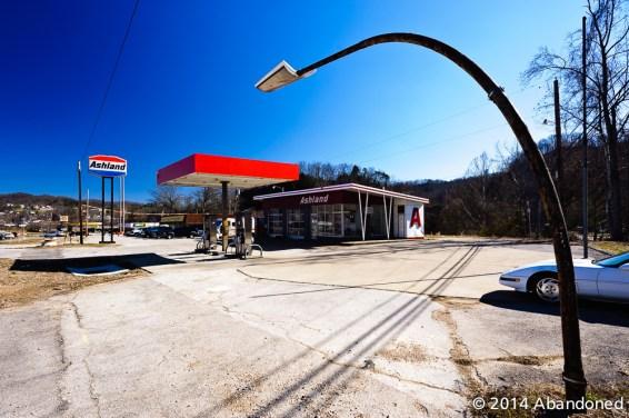 Along KY 15 in Jackson, Kentucky