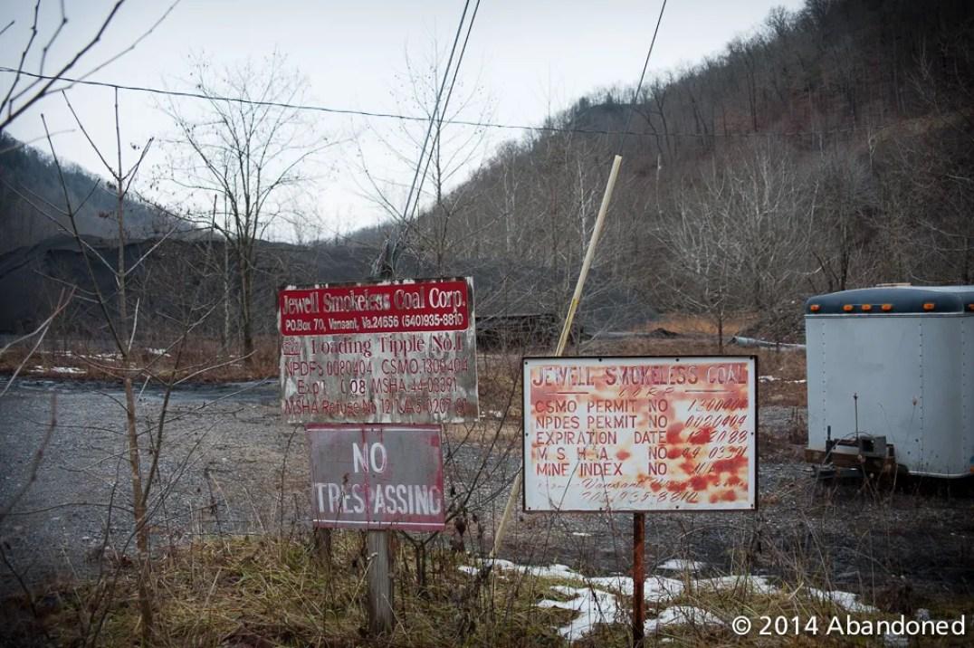 Island Creek Coal Virginian Pocahontas operation at Whitewood, Virginia