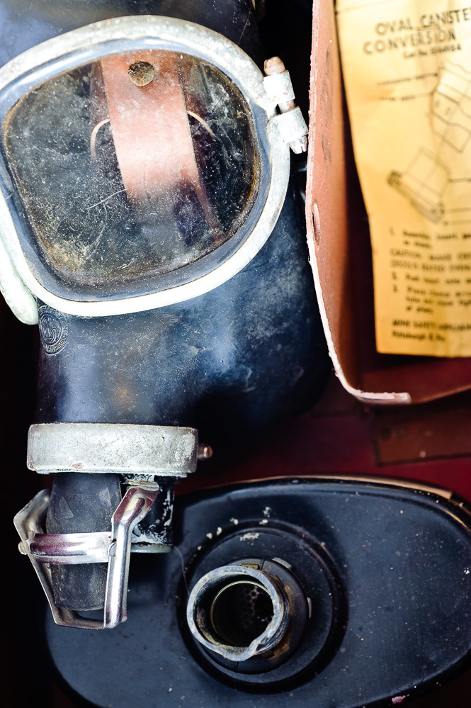 Mine Safety Appliances Co. Industrial Gas Mask