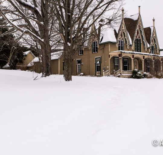 Abandoned Gothic Revival House in Ithaca