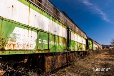 Burlington Northern 9917 EMD E9A